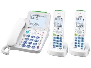 シャープ デジタルコードレス電話機 子機2台 JD-AT80CW