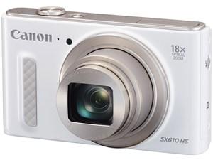 PowerShot SX610 HS [ホワイト] 2020万画素で光学18倍ズームレンズを搭載したデジタルカメラ 商品画像1:Happymall PLUS