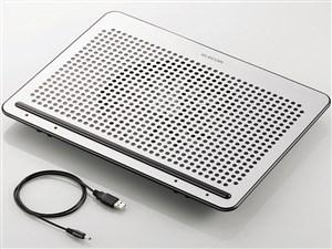 ELECOM SX-CL22LSV シルバー [ノートPC用クーラー(角度調節・強冷タイプ)・・・