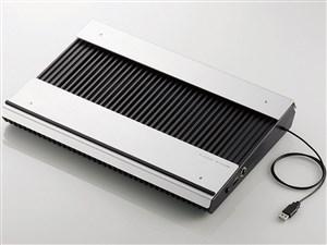 ELECOM SX-CL23LBK ブラック [ノートPC用クーラー(高耐久性×極冷)・・・