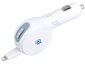 セイワ セイワ DCリールチャージャーL5 Lightningコネクター 2.4A ホワイト A・・・