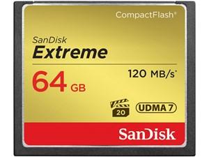 サンディスク エクストリームコンパクトフラッシュ64GB (SDCFXSB064GJ61) SDC・・・