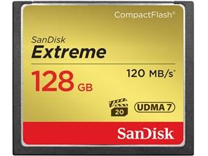 サンディスク エクストリームコンパクトフラッシュ128GB (SDCFXSB128GJ61) SD・・・