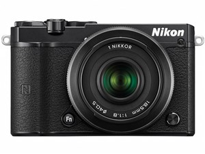 Nikon 1 J5 ダブルレンズキット [ブラック] 商品画像1:マークスターズ