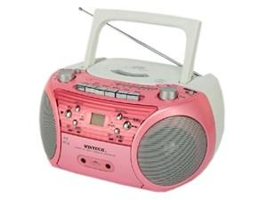 WINTECH/廣華物産 CDR-L72P ピンク [CDラジカセ (外部音声入力端子)・・・