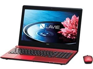 LAVIE Note Standard NS550/BAR PC-NS550BAR [クリスタルレッド] 商品画像1:マークスターズ