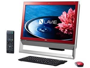 LAVIE Desk All-in-one DA370/BAR PC-DA370BAR [クランベリーレッド・・・