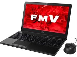 FMV LIFEBOOK AH45/U FMVA45UBP [シャイニーブラック]