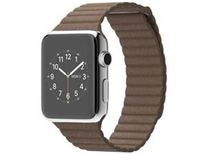 Apple Watch 42mm Lサイズ MJ422J/A [ライトブラウンレザーループ・・・