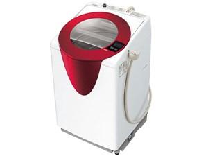 AQUA AQW-GT800-R パッションレッド [全自動洗濯機 (8.0kg)・・・