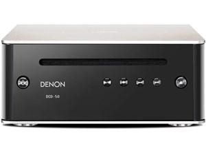 DENON ハイレゾ音源対応CDプレーヤー DCD-50 プレミアムシルバ・・・