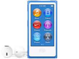 △MKN02J/A [16GB ブルー]iPod nano APPLE