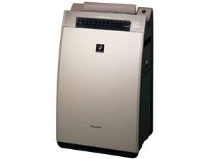 SHARP KI-FX100 ゴールド系 [加湿空気清浄機 (空気清浄46畳/加湿26畳まで)・・・