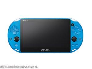 PlayStation Vita (プレイステーション ヴィータ) Wi-Fiモデル PCH-2000 ZA23 [アクア・ブルー] 商品画像1:JYPLUS