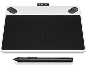 WACOM CTL-490/W0 ホワイト Intuos Draw small [ペンタブレット]