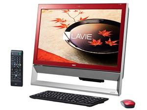 LAVIE Desk All-in-one DA370/CAR PC-DA370CAR [クランベリーレッド・・・