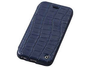 Deff Luxury Genuine Leather Case for iPhone6/6s Midnight Blue DCS-IP6SLB・・・