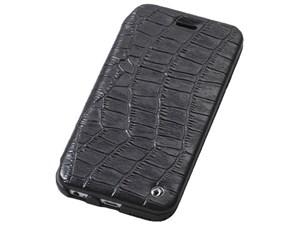 Deff Luxury Genuine Leather Case for iPhone6 Plus/6s Plus Black DCS-IP6P・・・