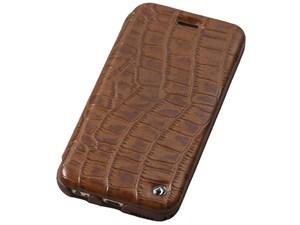Deff Luxury Genuine Leather Case for iPhone6 Plus/6s Plus Brown DCS-IP6P・・・