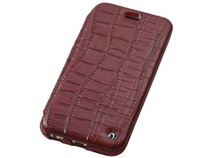 Deff Luxury Genuine Leather Case for iPhone6 Plus/6s Plus Red DCS-IP6PSL・・・