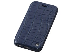 Deff Luxury Genuine Leather Case for iPhone6 Plus/6s Plus Midnight Blue ・・・