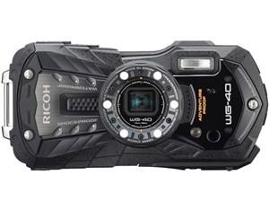 RICOH WG-40 [ブラック] 8GB付き