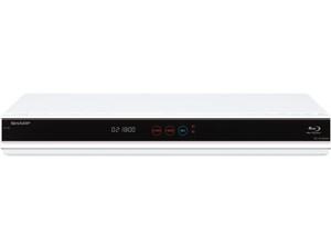 シャープ ハードディスク容量(1TB) AQUOSブルーレイ BD-W1800W [ホワイト・・・