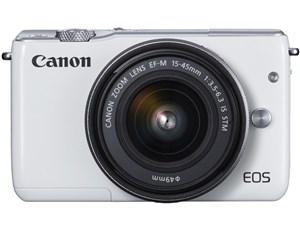 CANON EOS M10 EF-M15-45 IS STM レンズキット ホワイト [デジタルミラーレス・・・
