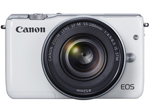 CANON EOS M10 ダブルズームキット ホワイト [デジタルミラーレス一眼カメラ(・・・