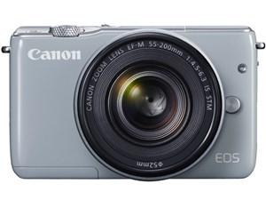 CANON EOS M10 ダブルズームキット グレー [デジタルミラーレス一眼カメラ(18・・・