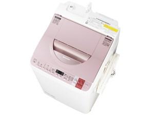 SHARP ES-TX750-P ピンク系 [たて型洗濯乾燥機 (洗濯7.0kg/乾燥3.5kg)・・・