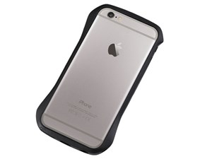 Deff Cleave Aluminum Bumper for iPhone6/6S Meteor Black DCB-IP6SA6BK