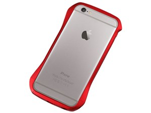 Deff Cleave Aluminum Bumper for iPhone6/6S Flare Red DCB-IP6SA6RD