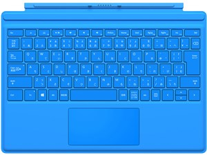 QC7-00071 [シアン] Surface Pro 4 タイプ カバー 商品画像1:@Next kaago店