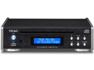 TEAC ワイドFM、USBメモリーからの音楽再生にも対応CDプレーヤー/FMチューナ・・・