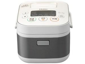 ハイアール 3合 マイコンジャー炊飯器 JJ-M31A-W