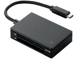 エレコム メモリリーダライタ/USB Type-Cコネクタ/USB3.1 Gen1/SD+MS+CF+XD/M・・・