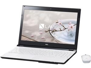 LAVIE Note Standard NS350/DAW PC-NS350DAW [クリスタルホワイト]