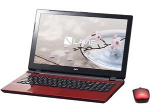 LAVIE Note Standard NS150/DAR PC-NS150DAR [ルミナスレッド]