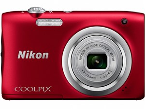 SD8GB付き COOLPIX A100 [レッド]