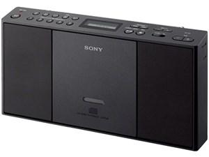 SONY ZS-E30 (B) ブラック [CDラジオ (ワイドFM対応)]