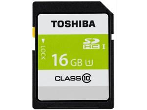 東芝 高速SDHC UHS-Iメモリカード Class10対応 16GB SD-AR40N16・・・