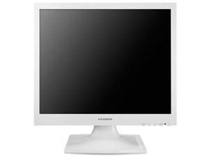 IODATA LCD-AD173SEW ホワイト [フリッカーレス設計採用 スクエア液晶ディス・・・