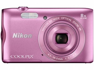 SDHC8GB付き COOLPIX A300 [ピンク]