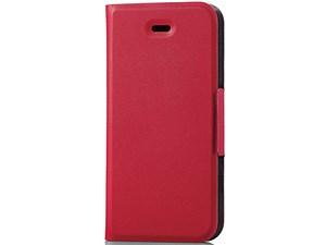 エレコム iPhone SE/5/5s用レザーカバー/横型フラップ/薄型(磁石付) PM-A16SP・・・
