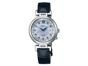 ドルチェ&エクセリーヌ ソーラー電波時計 エターナルブルー限定モデル SWCW10・・・