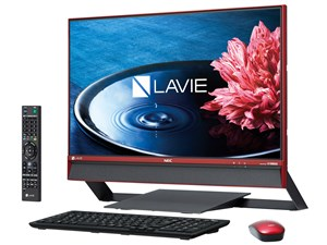 LAVIE Desk All-in-one DA770/EAR PC-DA770EAR [クランベリーレッド・・・