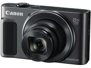 PowerShot SX620 HS [ブラック] 軽量182gで光学25倍ズームレンズ搭載のデジタルカメラ 商品画像1:Happymall PLUS