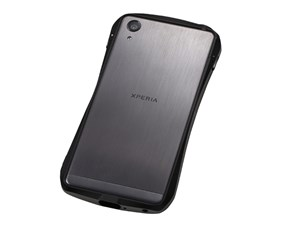 Deff CLEAVE LIMITED Aluminum Bumper for Xperia X Performance Black/Graph・・・
