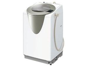 AQUA AQW-LV800E-S シャンパンシルバー SLASH(スラッシュ)[全自動洗濯機 (8・・・
